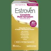 Estroven Complete Menopause Multi-Symptom Relief, Hormone Free, 60 ct
