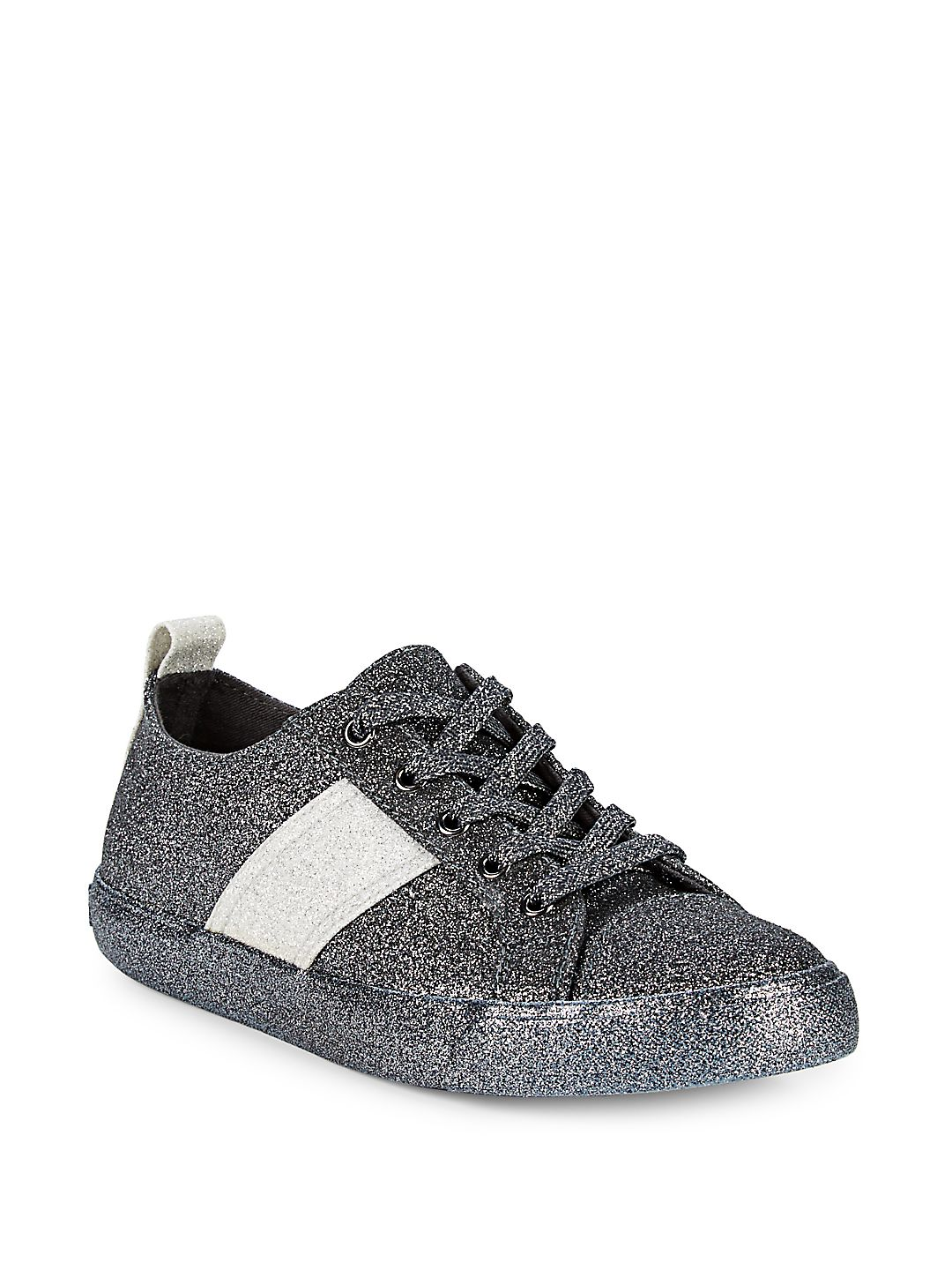 Obey Glitter Lace-Up Sneakers