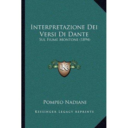 Interpretazione Dei Versi Di Dante: Sul Fiume Montone (1894) - image 1 de 1