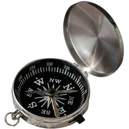 Sterling Silver Large Compass - Lillian Rose Compass Party Favor