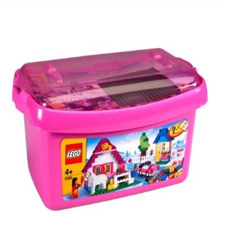 Lego Pink Brick Box Large Style# 5560 - Lego Halloween Style