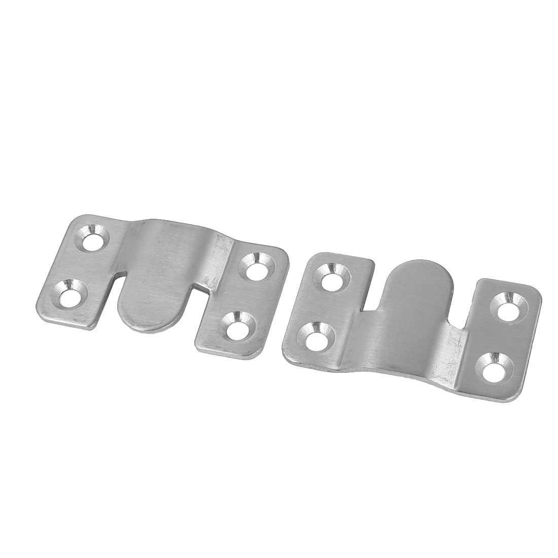 53mm x 30mm Iron Photo Frame Sofa Sectional Connector Bracket 4pcs - image 1 of 3