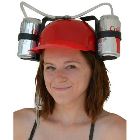 Novelty Helmet Shop (Fairly Odd Novelties Beer & Soda Guzzler Helmet & Drinking Hat,)