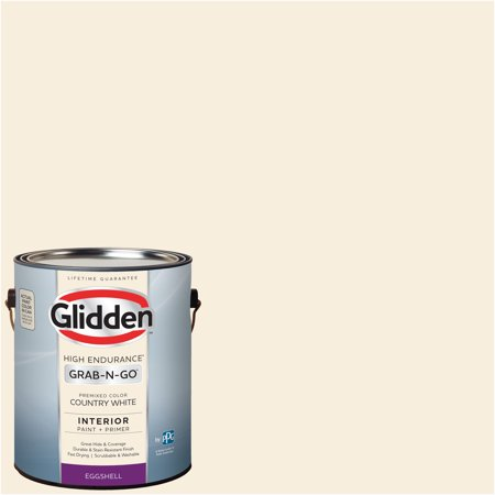 Glidden Pre Mixed Ready To Use, Interior Paint and Primer, Country (Best Paint Primer For Interior Walls)