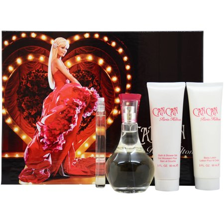 Paris Hilton Can Can Fragrance Gift Set, 4 pc