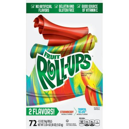 Product of Betty Crocker Blastin' Berry Hot Colors Fruit Roll-Ups, 72 ct. [Biz Discount] ()