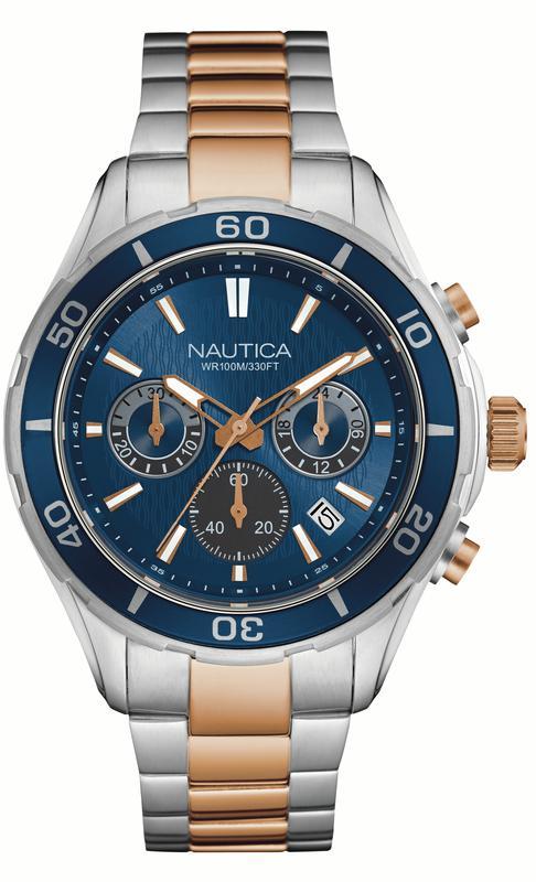 NAUTICA MEN'S WATCH NST 12 46MM by Nautica