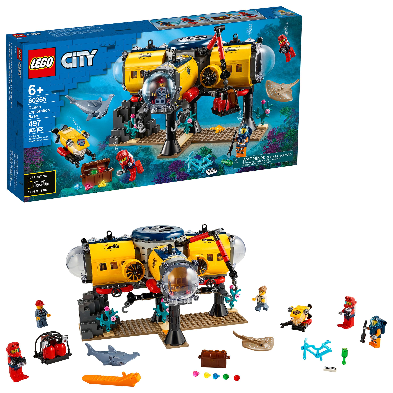 Lego City Ocean Exploration Submarine 60264 Building Kit 286 Pcs