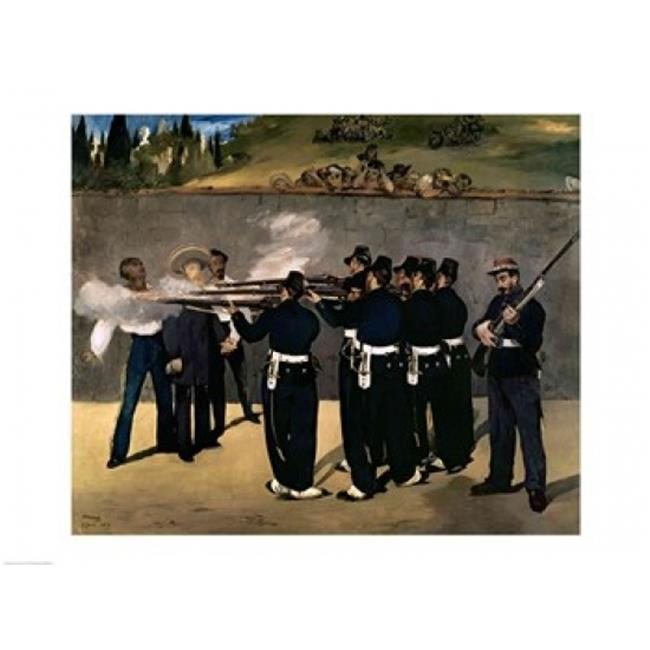 The Execution of The Emperor Maximilian Poster Print by Edouard Manet - 36 x 24 in. - Large - image 1 of 1