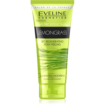 Eveline Cosmetics Spa Professional Bio - Regenerating LEMONGRASS Body Peeling Shower - Lemongrass Spa