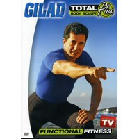 Gilad: Total Body Sculpt Plus: Functional Fitness With Gilad (DVD)