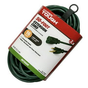 Hyper Tough 50FT 16AWG 3 Prong Green Single Outlet Outdoor Extension Cord