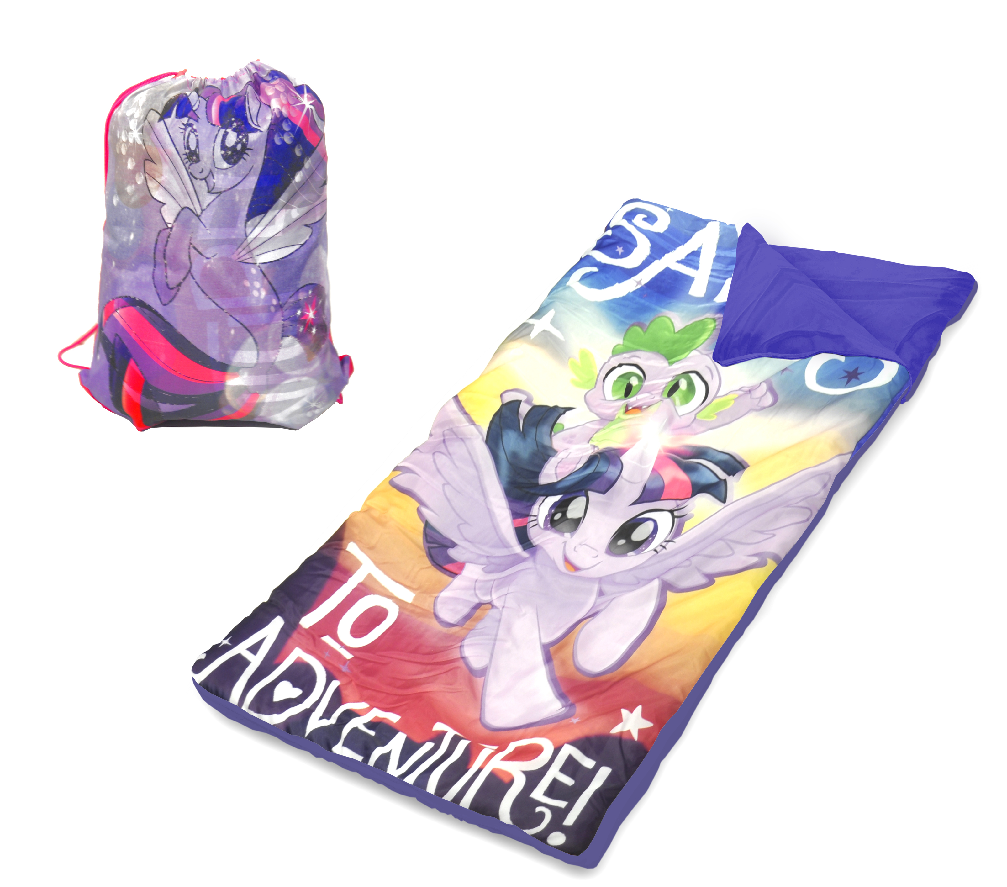My Little Pony Movie Sling Bag Sleeping Bag Set by Idea Nuova