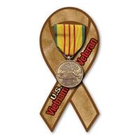 Mighty Mini Magnet - Vietnam Veteran Service Mini Ribbon Magnet