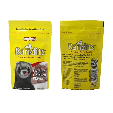 - Marshall Pet Bandits Ferret Treat, Chicken, 3oz (Free Shipping)