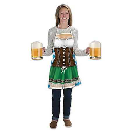 Oktoberfest Fraulein Apron - A Luau