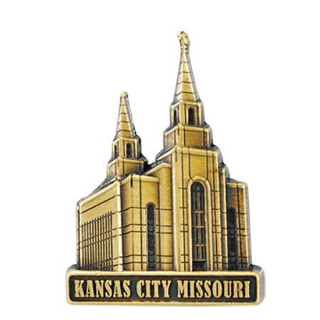 Kansas City Temple Pin