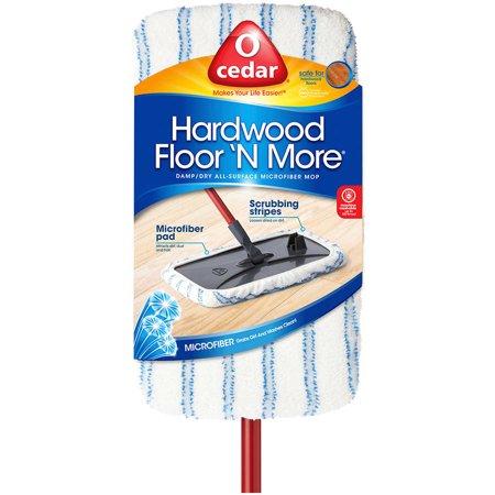 O Cedar Hardwood Floor N More Microfiber Mop Walmart Com