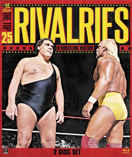 WWE: Top 25 Rivalries by WWE HOME ENTERTAINMENT