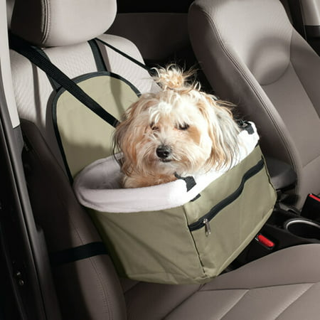 Pet Small Dog Booster Car Seat - Beige (Small Dog Car Booster Seat)