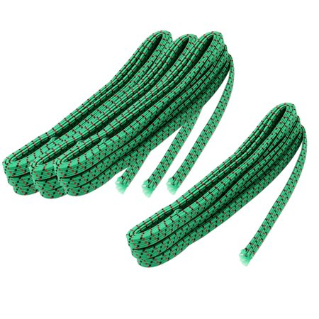 Apartment Fabric Trousers Garments Sewing Stretchy Elastic String Green 4pcs