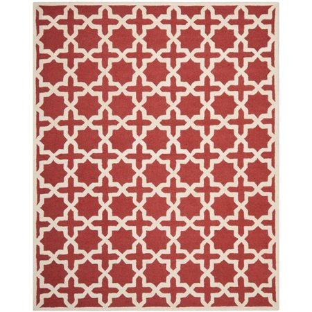 Safavieh Cambridge 4' X 6' Hand Tufted Wool Rug in Rust and Ivory - image 3 de 8