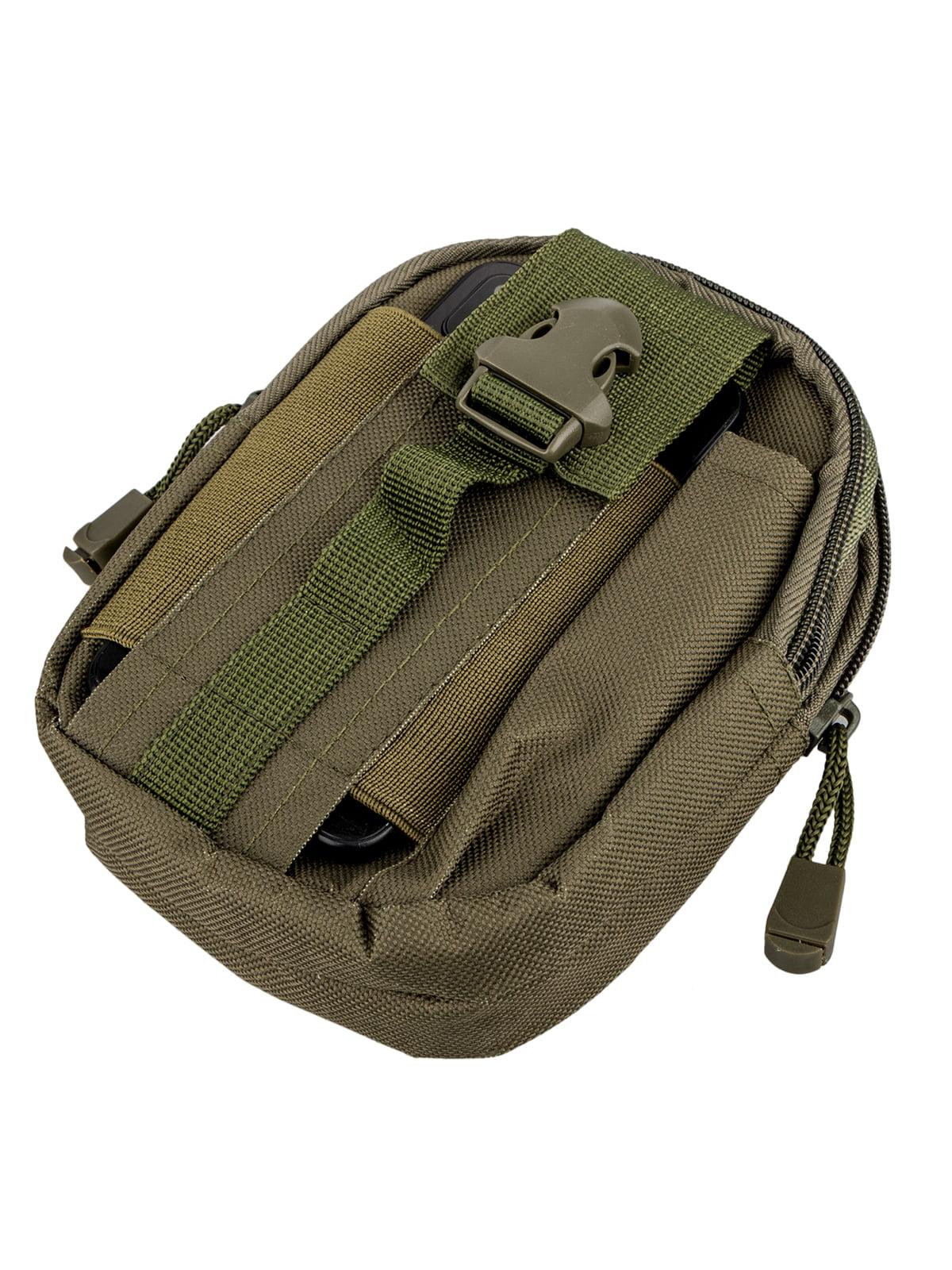 TSV Tactical Molle Pouch EDC Belt Waist Fanny Military Waist Bags Pack Bag Pocket