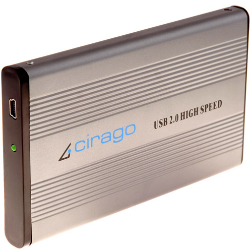 Cirago CST1000 Series 640GB Portable USB Storage