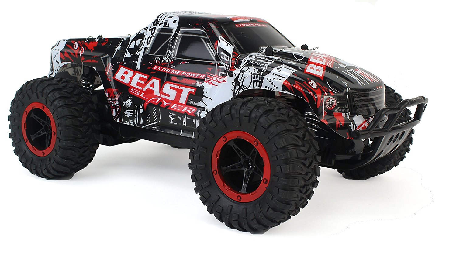 Racing Slayer Remote Control Rally Truck RC Car 1:16 Scale W ...