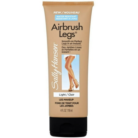 Sally Hansen Airbrush Legs Leg Makeup, Light 4 oz (Pack of 2)