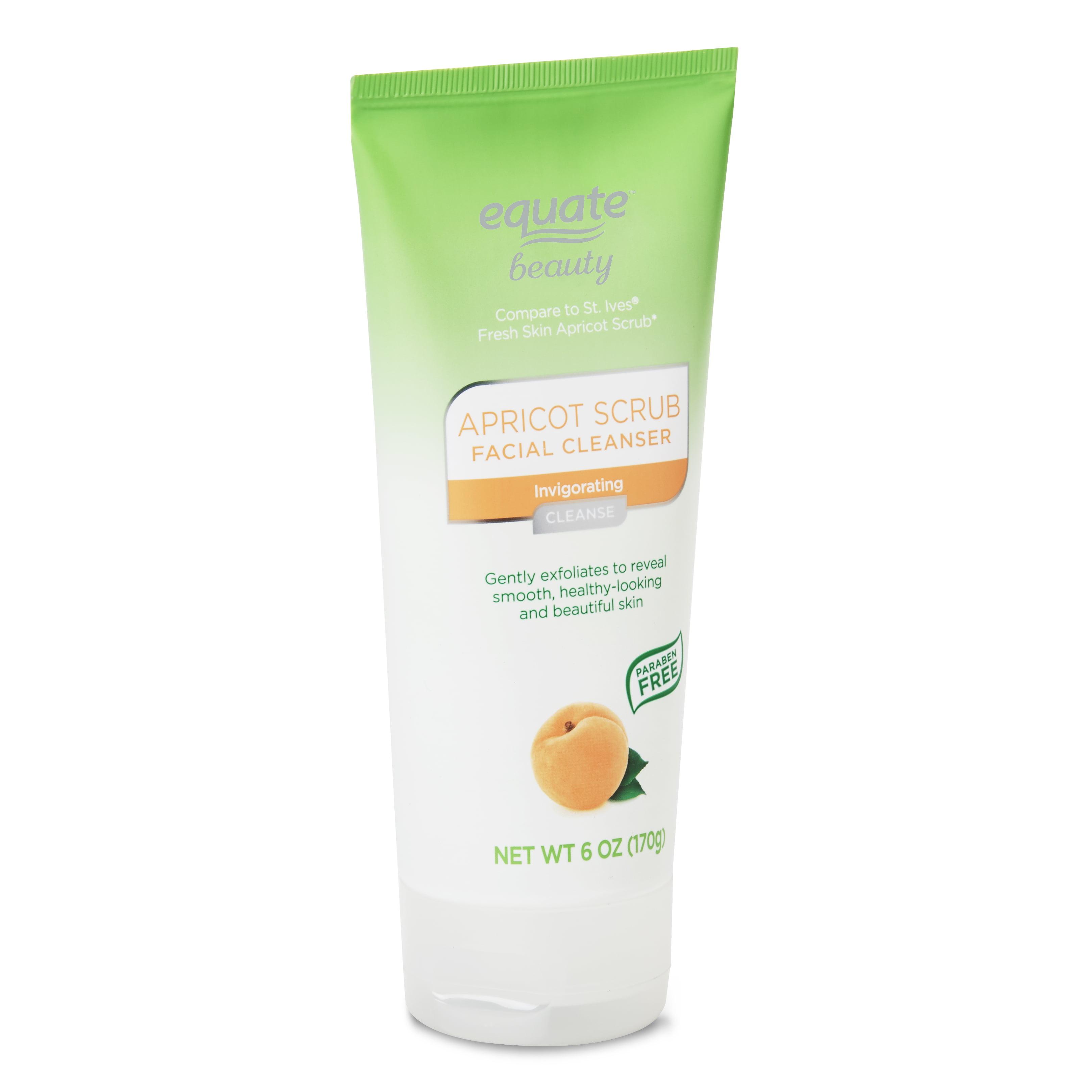 Equate Beauty Refreshing Apricot Scrub, 6 Oz Kiehls - Lip Balm # 1 - Mango -15ml/0.5oz