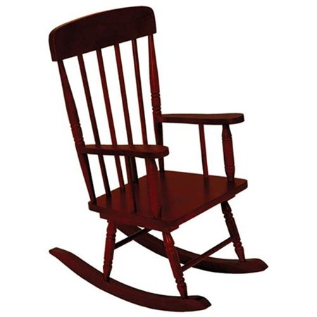 Kidkraft Spindle Rocking Chair Cherry Walmart Com
