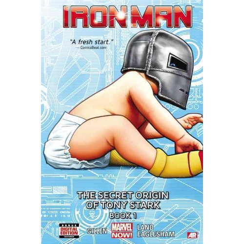 Iron Man 2: the Secret Origin of Tony Stark 1 (Marvel Now)
