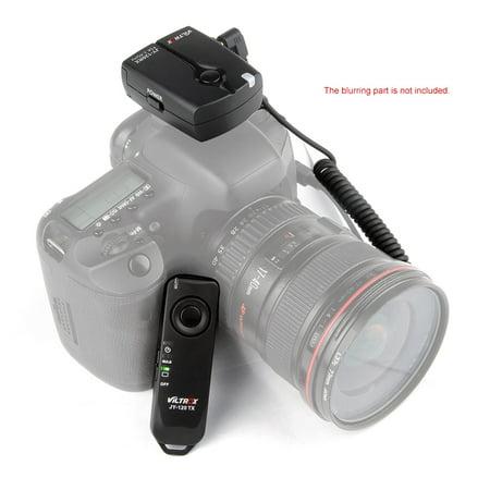 Pentax Wireless Remote - Viltrox JY-120-C1 2.4GHZ FSK Wireless Remote Shutter Controller Set Time Lapse BULB with C1 Cable 100m Distance for Canon 60D 70D 600D 650D 700D Pentax K5 K5II K7 K30 K10D K20D K200.