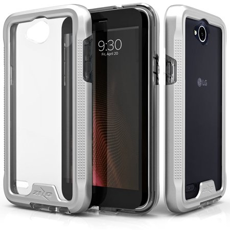 release date: e5a2d 94ef3 Zizo ION Series compatible with LG X Charge Case Military Grade Drop Tested  with Tempered Glass Screen Protector LG X Power 2 LV7 Case