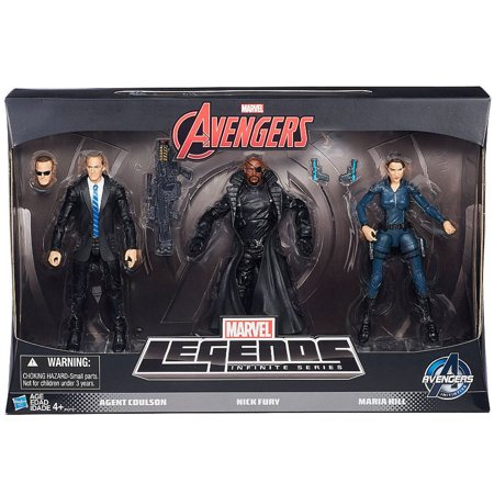 Agent Coulson, Nick Fury & Maria Hill Action Figure 3-Pack Agents of Shield