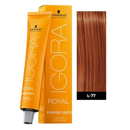 Schwarzkopf Igora Royal Fashion Lights Hair Color, L-77