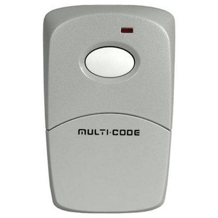 Linear Stanley Compatible Multi-Code Visor Transmitter, 1-Channel - 1 Button Visor Transmitter