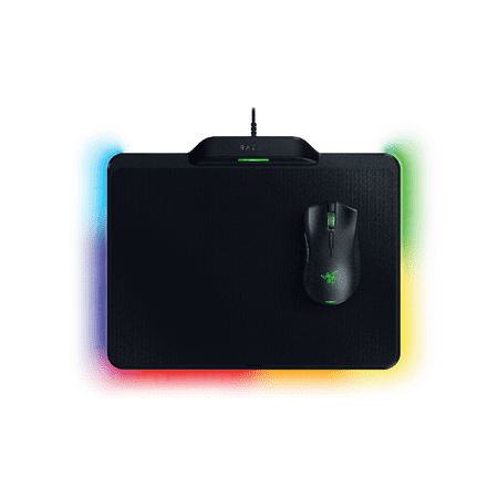 Razer Mamba Hyperflux & Firefly Hyperflux Bundle: Wireless Power Technology - 5G True 16,000 DPI Optical Sensor - Razer Chroma Enabled - Ultra-Lightweight Wireless Gaming