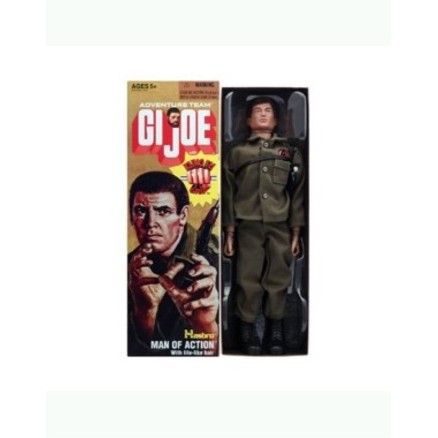 """GI Joe Adventure Team Man of Action with Kung Fu Grip 12"""" Reproduction Action Figure by"""
