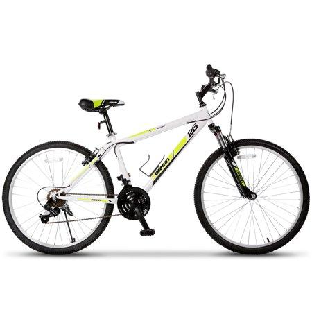Bicycle Hybrid (Mountain Bike 26'' Men+ Women Hybrid Bike MTB 18 Speed Suspension)