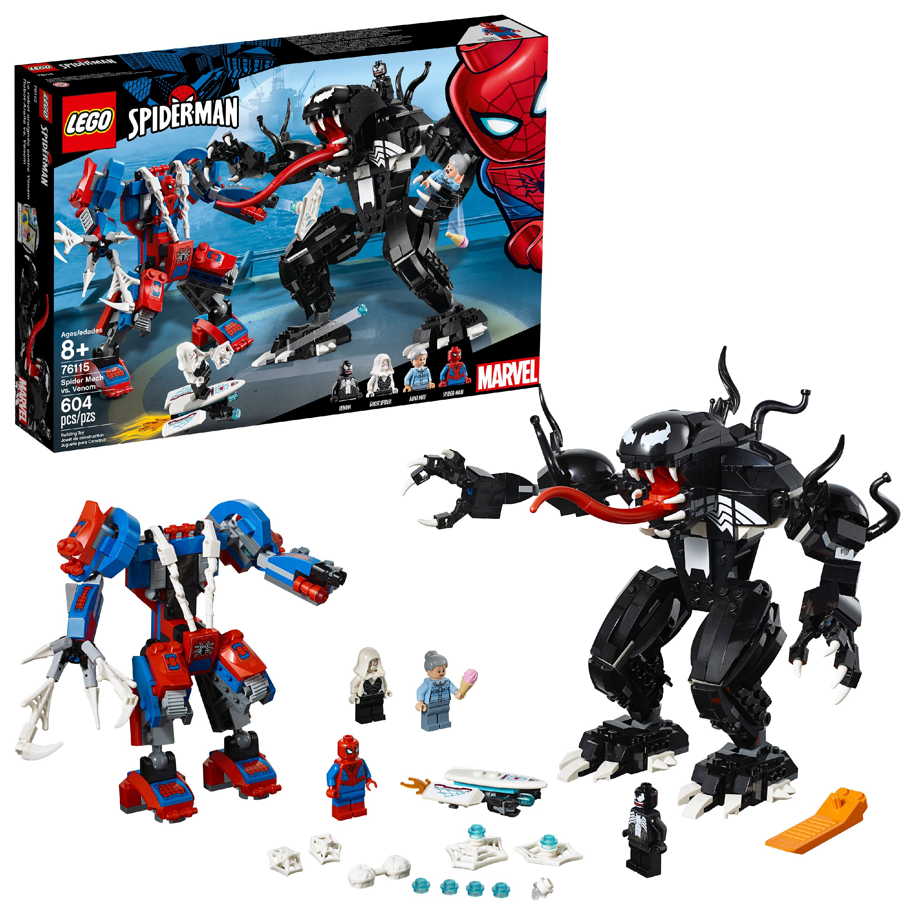 LEGO Super Heroes Marvel Spider Mech vs. Venom 76115