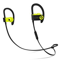 Refurbished Beats by Dr. Dre Powerbeats3 Wireless In Ear Headphones - Shock Yellow