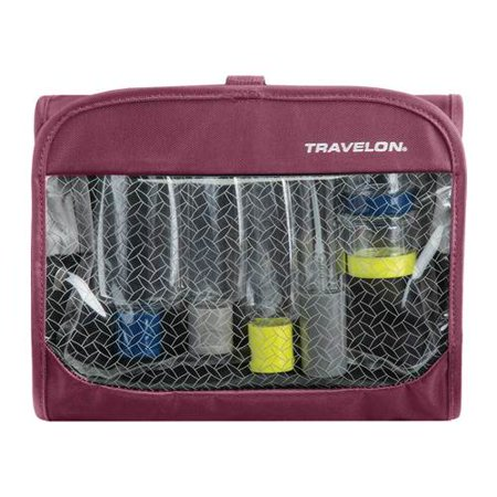 Tri Fold Organizer - Travelon Trifold Wet/Dry Quart Bag with Bottles  7