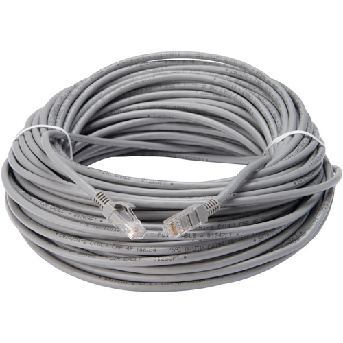 Lorex CBL100C5RU Cat5e In-Wall Rated Extension Cable, 100'