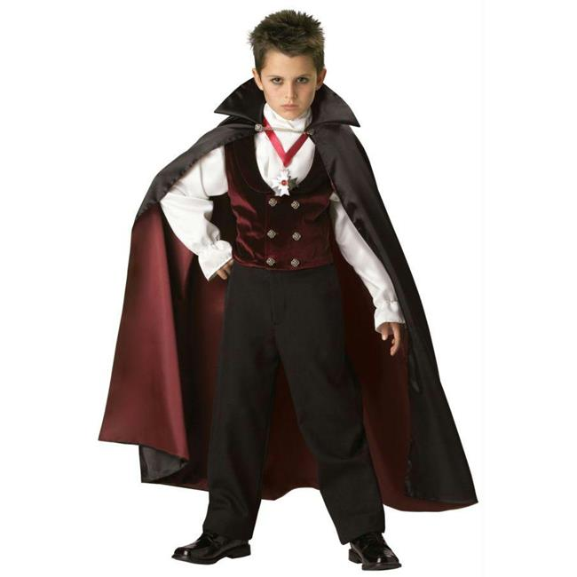 Costumes For All Occasions Ic7001Md Gothic Vampire Child Size 6