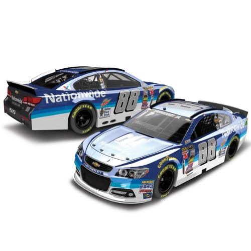 Dale Earnhardt Jr. Action Racing 2015 #88 Nationwide 1:24 Scale Color Chrome Die-Cast Chevrolet SS - No Size