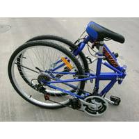 Columba SP26S Folding Bike Blue
