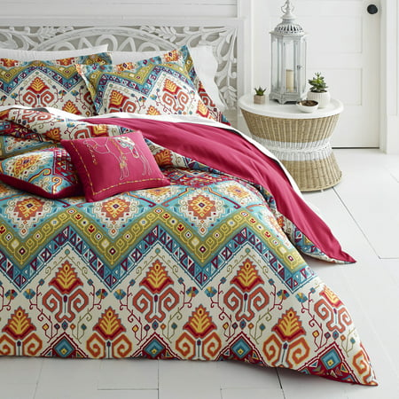 Azalea Skye Moroccan Nights Dark Red Comforter Set, Full/Queen - Morocco Comforter Set