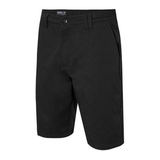f594039680 Fifth pocket on side of left leg with welt opening. Embroidered O'Neill  logo on front of left leg. Tag is sewn onto inside of waistband at back.  Open fly.
